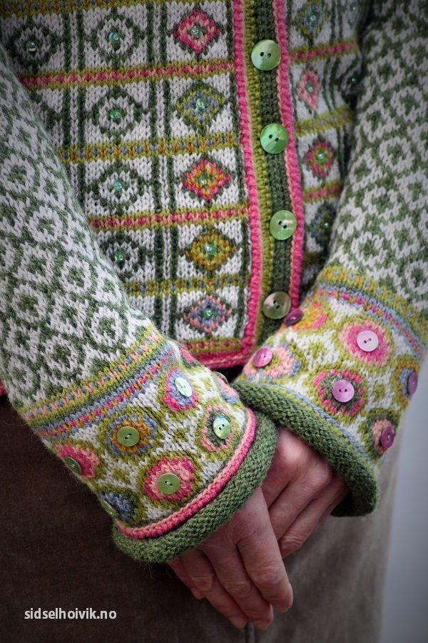 Hippie kofte / Hippie Jacket Design&Photo: Sidsel J. Høivik ...