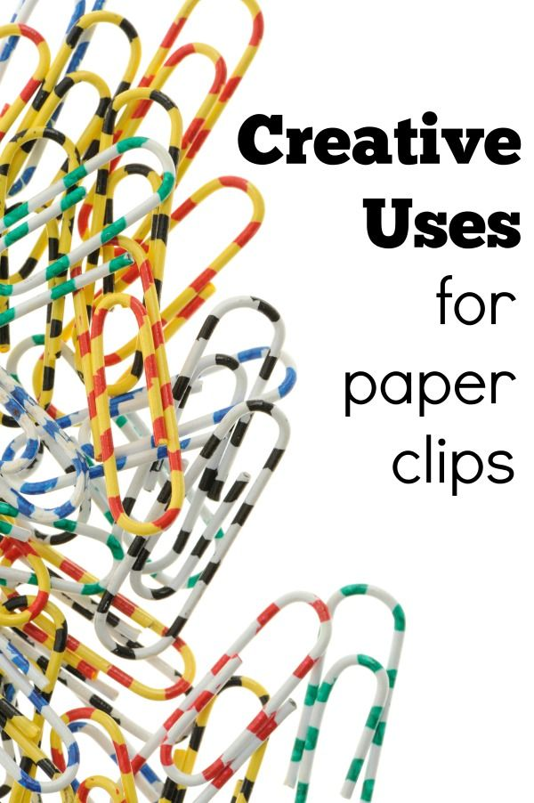 Creative Uses For Paper Clips Paper Clips Paperclip Crafts Creative