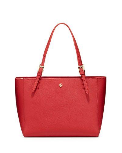 Tory Burch York Kir Royale Small Saffiano Tote Bag - $245.00
