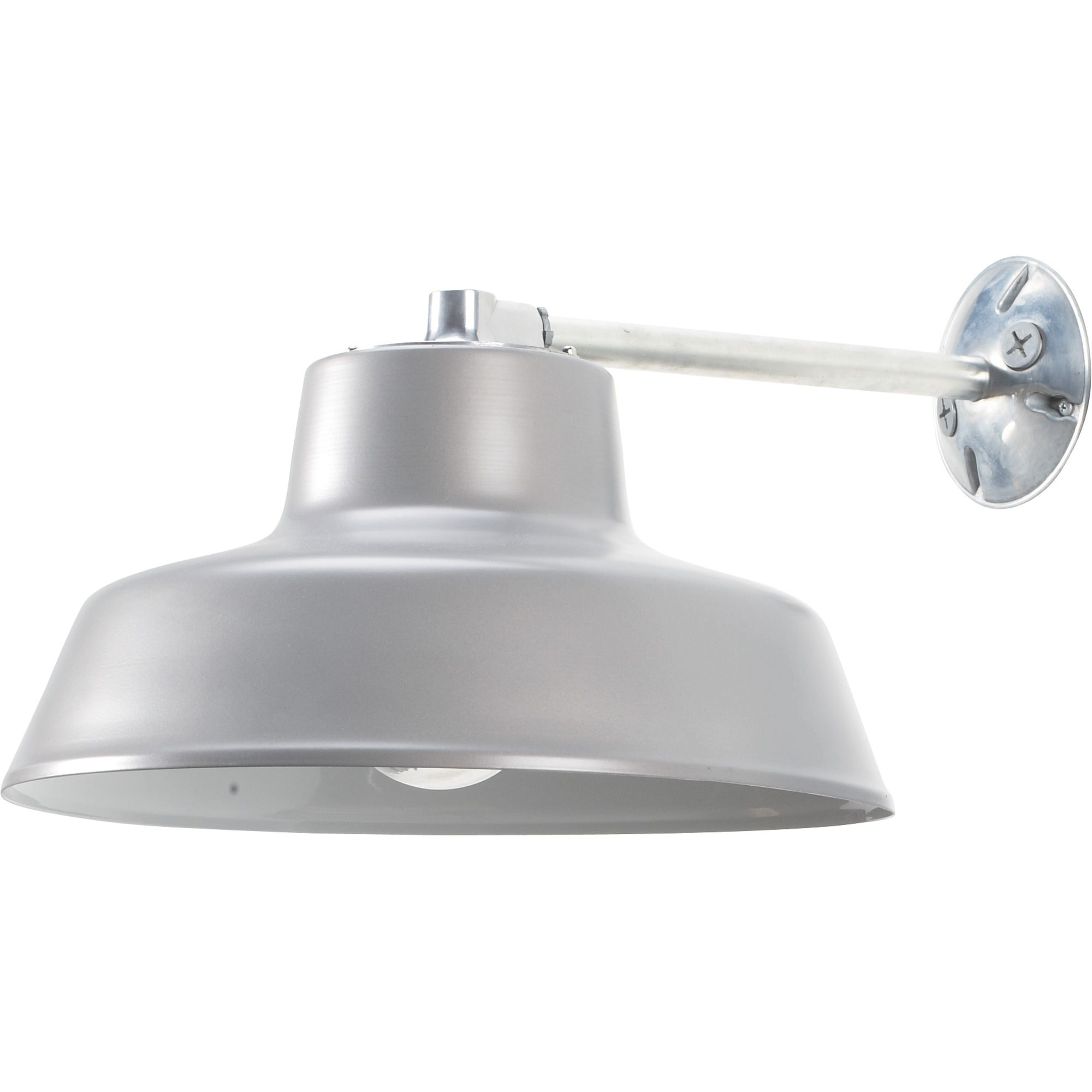 Canarm Ceiling/Wall Barn Light with Glass Bulb Shield 14in ...