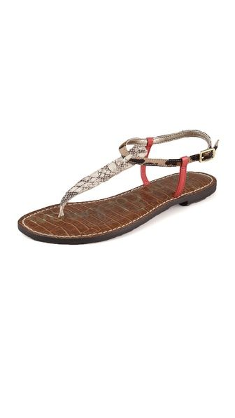 f64ce0cbf234 Sam Edelman Gigi T Strap Sandals