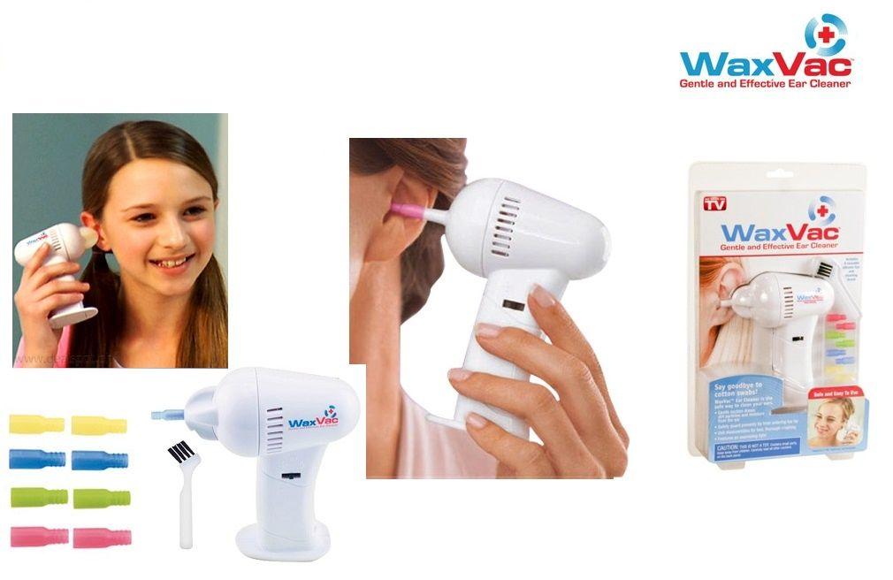 جهاز شفط و تنظيف الأذن من الشمع Wax Vac و داعا لتنظيف الأذن بعيدان القطن المسببة للآلام Ear Cleaning Projects To Try Hair Dryer