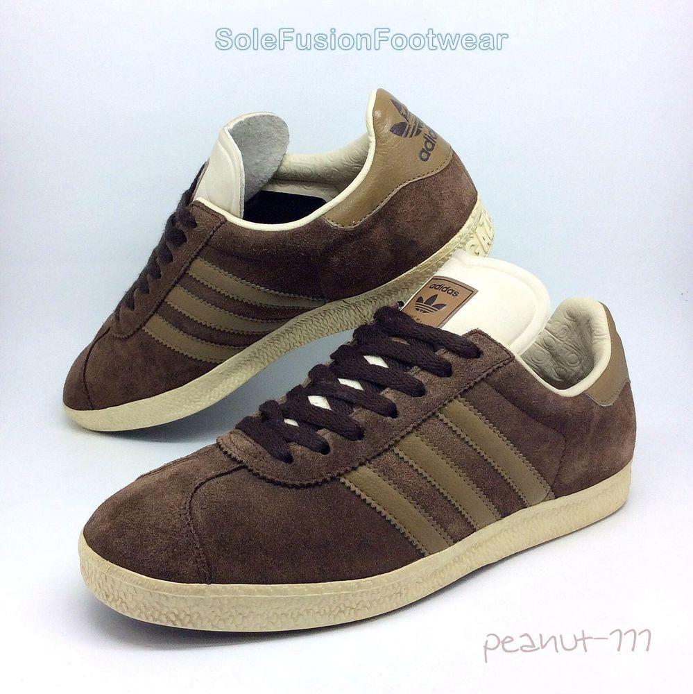 Adidas Mens Gazelle Green Suede Trainers 41 1/3 EU 0eQ5Vi