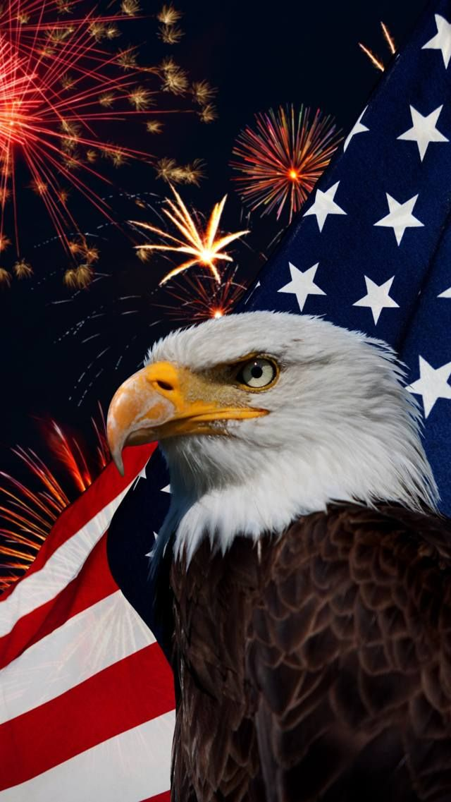 Zedge Free Downloads For Your Cell Phone Free Your Phone Patriotic Pictures American Flag Eagle 4th Of July Wallpaper