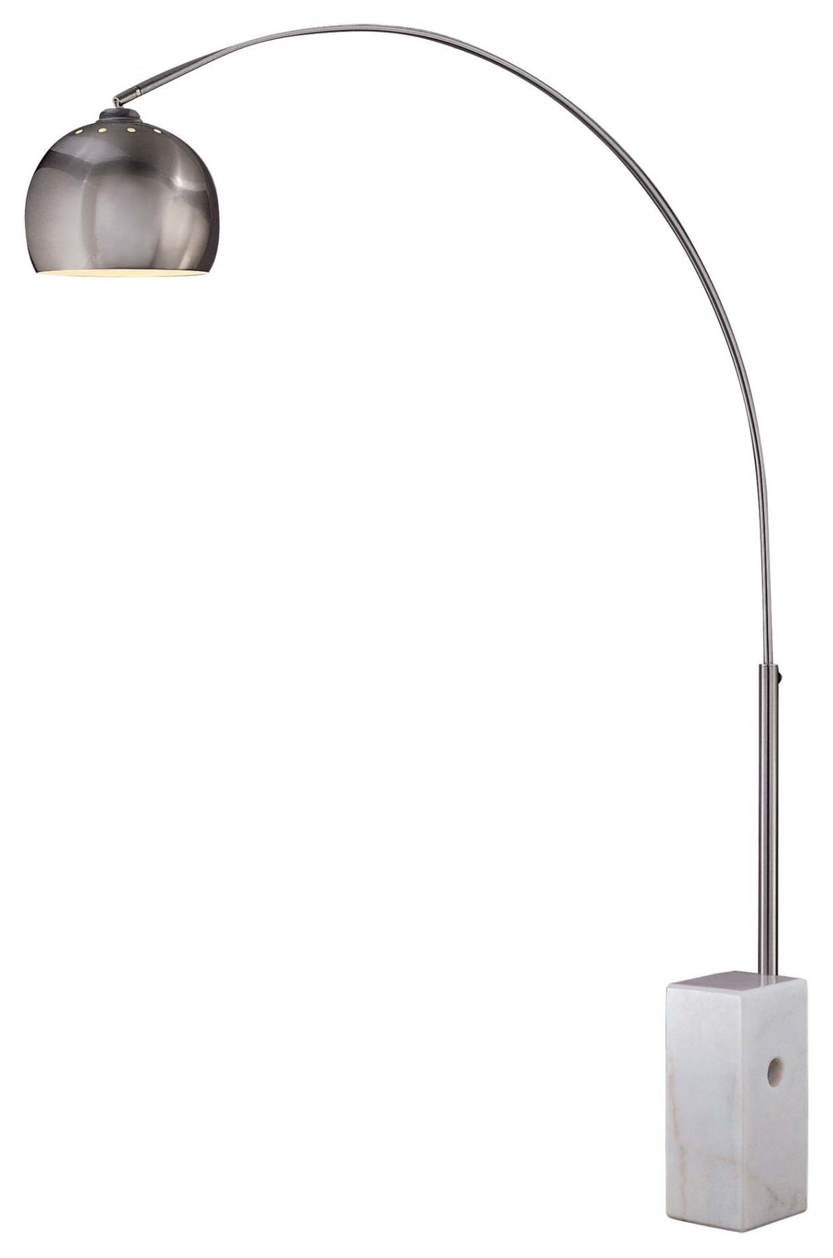 Replica Arco Lamp Purchased From Craigslist Arc Floor Lamps Lamp Silver Floor Lamp
