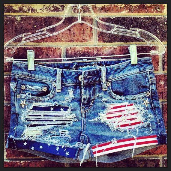 so cute-love Americana stuff b/c red white and blue and stars are ...