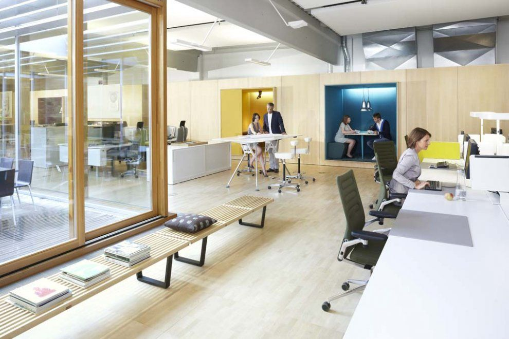 Rooms: Temporary Workstations & Meeting