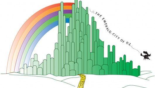 Emerald City Skyline Wizard Of Oz Google Search Emerald City Wizard Of Oz City Skyline