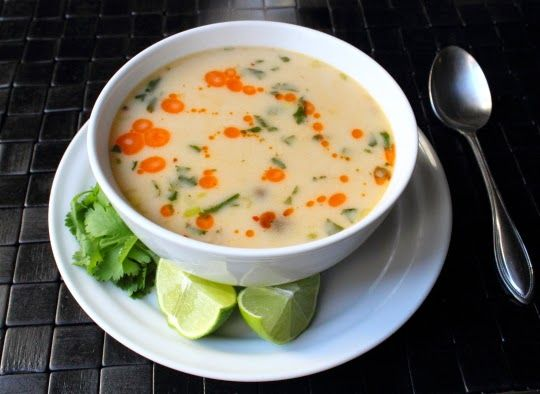 Tom Kha Gai Foodwishes Ingredients For 4 Serving 6 Cups Turkey