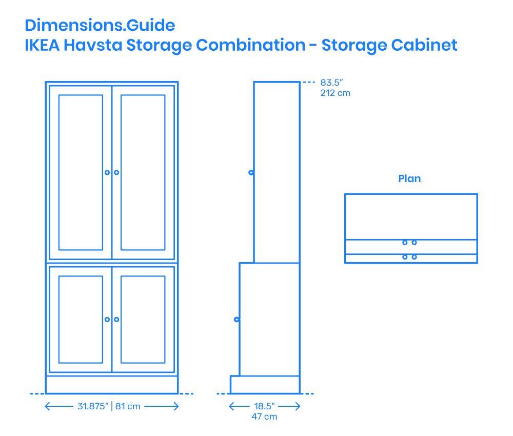 Ikea Havsta Storage Combination Storage Cabinet In 2020 Rustic Living Room Furniture Storage Ikea