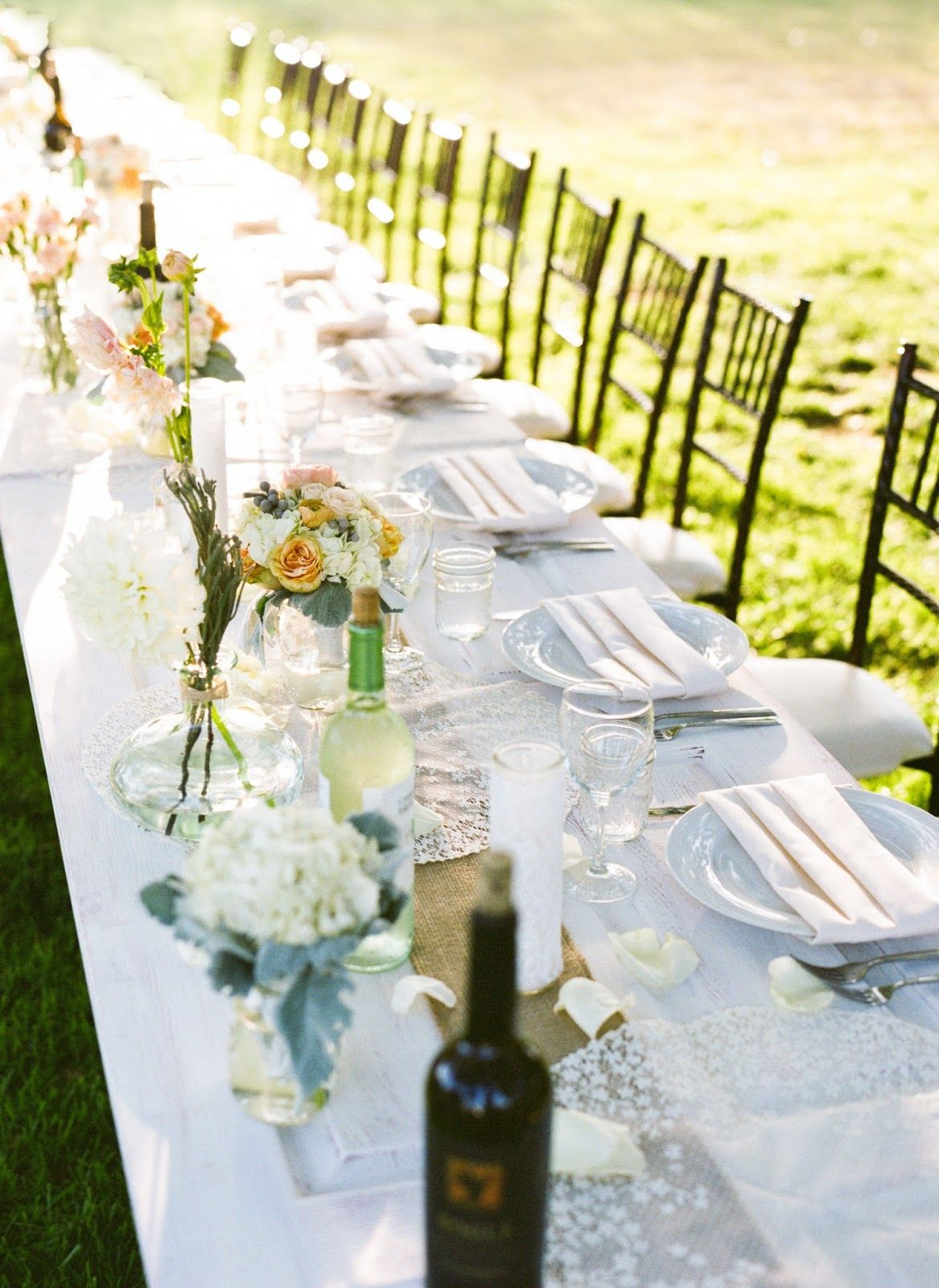 great vintage door table for head table by anything but ordinary