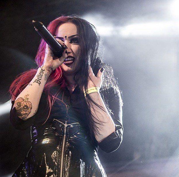 Ashley Costello   Ashley costello, New years day band, Ladies of metal