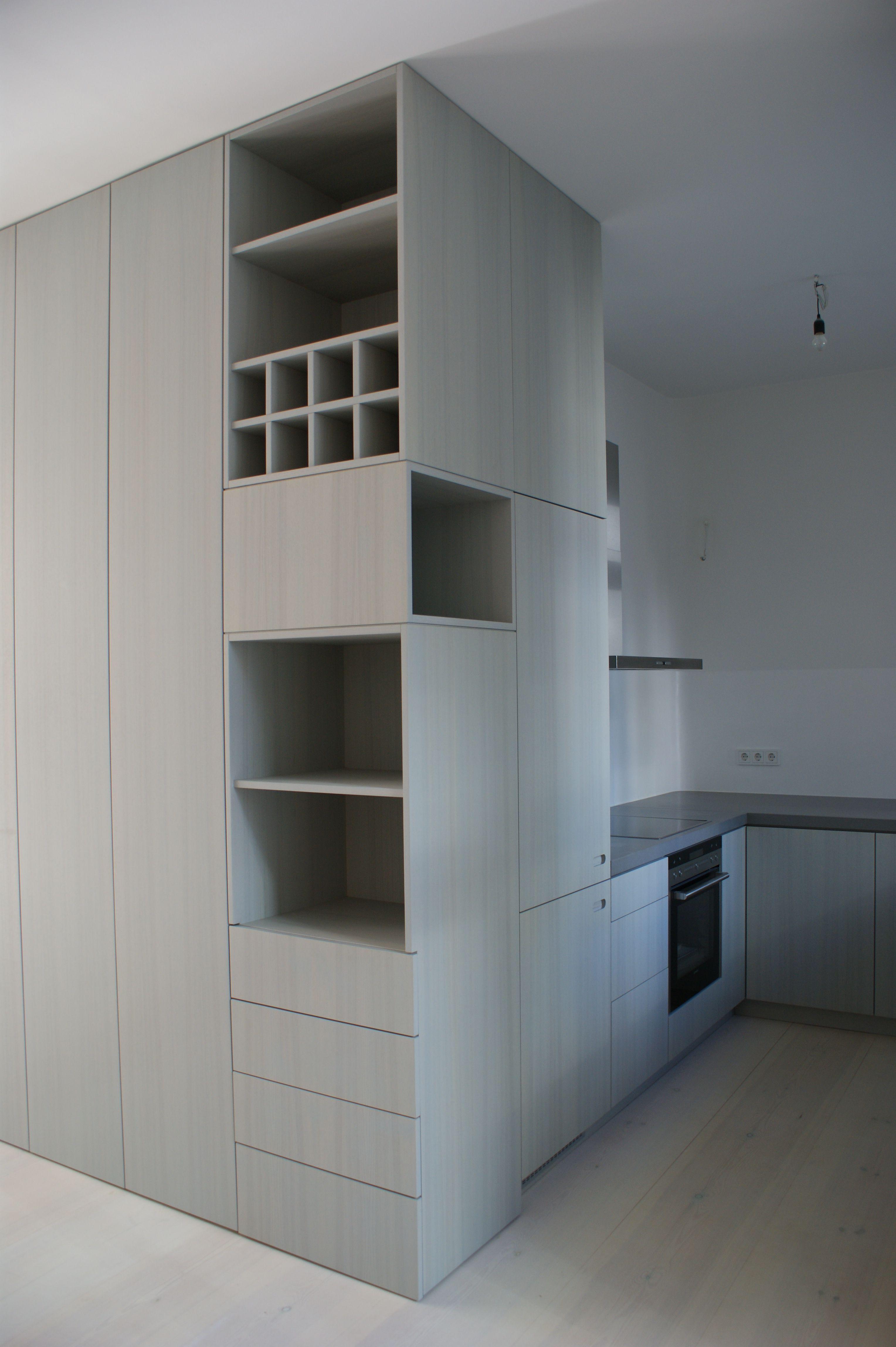 Einbauschrank wandhoch einbauschr nke regale garderoben - Einbauschrank wohnzimmer ...