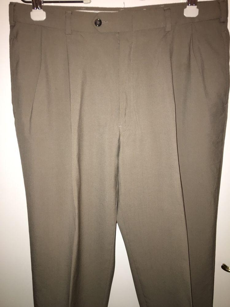 Austin Reed Slacks Size 36 X 32 Cuffed Pants Beige Ebay Cuffed Pants Pants Austin Reed
