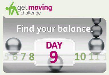 Today's Challenge: #Balance #training is important for people of all ages. Complete today's #exercise #video to improve your balance, engage core muscles and burn more calories.
