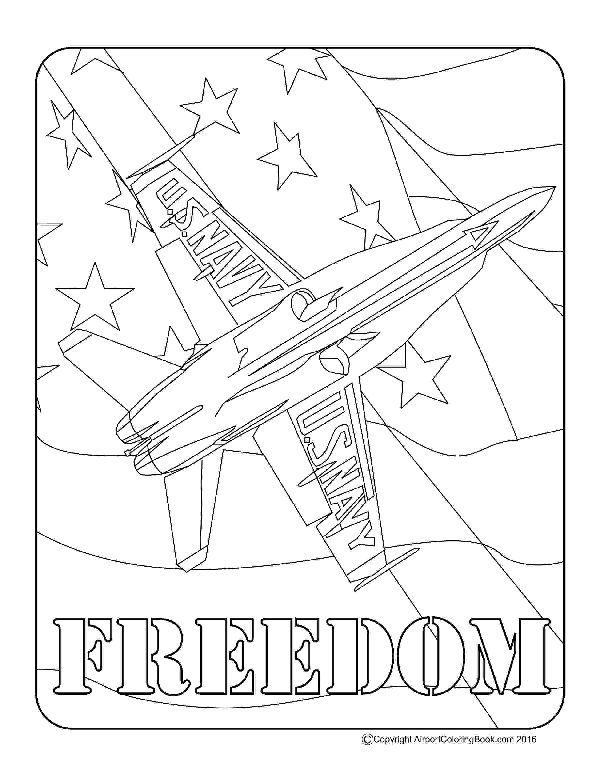 Airport Coloring Book Blue Angels Freedom For Coloring In 2020