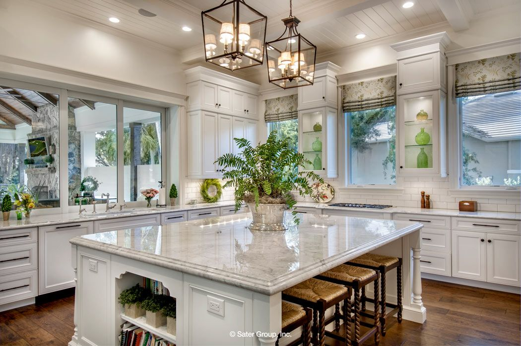 Astonishing The Kitchen Is Very Large With A Huge Central Island Home Interior And Landscaping Palasignezvosmurscom