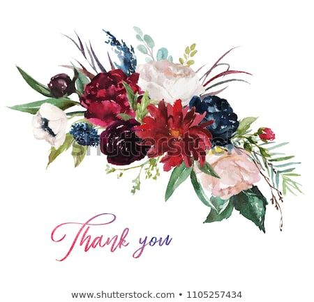 7f28b7681900 Watercolor floral illustration - flowers burgundy bouquet for wedding  stationary