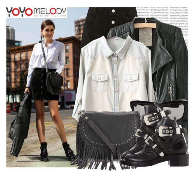"""""""Blogger Style: Stylescrapbook Yoyomelody #9"""" by megi32 ❤ liked on Polyvore"""