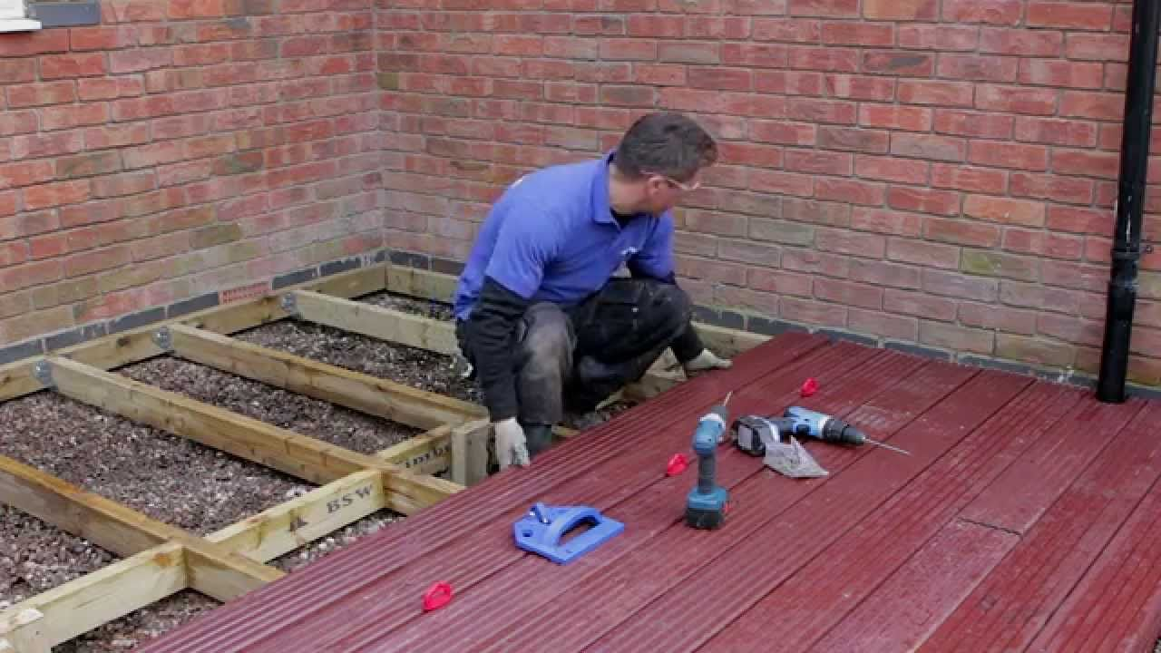How To Build U0026 Lay Timber Decking