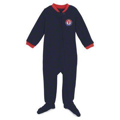 Texas Rangers Sleeper Pajamas 18 Month Baby Infant