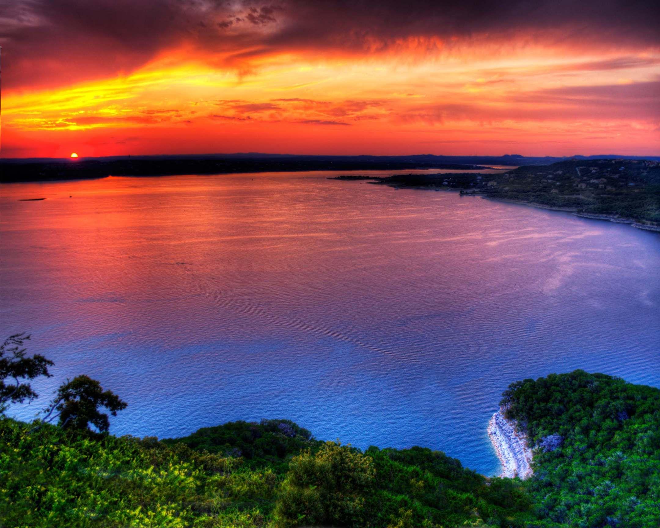 The Sunset Capital of Texas Texas Pinterest