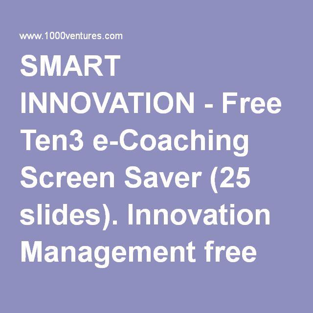 smart innovation free ten3 e coaching screen saver 25 slides