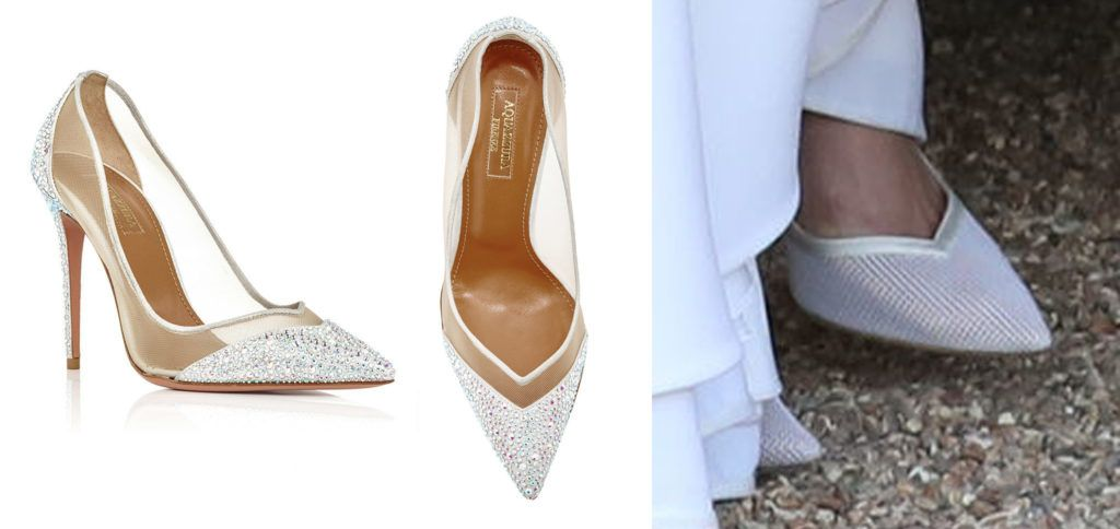 6b1723d3e347 Meghan s Aquazzura Wedding Shoes