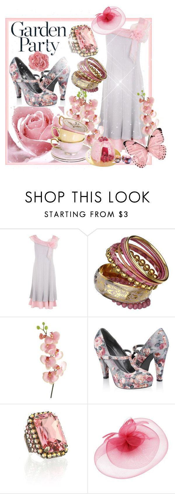 """""""Garden Party"""" by pat912 ❤ liked on Polyvore featuring Jacques Vert, Dorothy Perkins, Forever 21, Frango and Whiteley"""