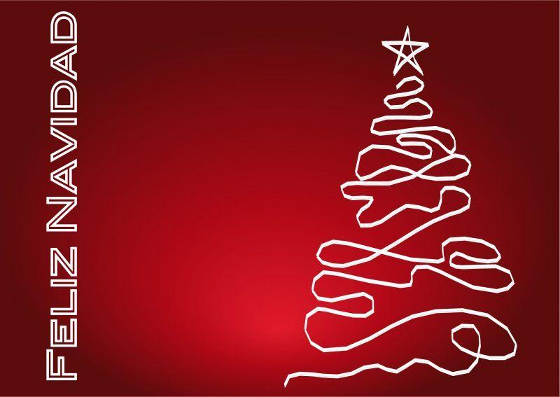 Tarjetas con arbol de navidad cabeceros pinterest - Disenar tarjetas de navidad ...