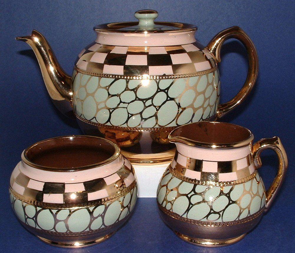 Time Was Antiques Family Blog: Fab Sadler Art Deco Teaset Added