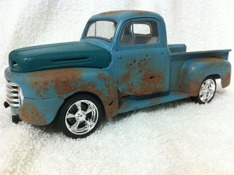 1950 Ford Pickup 2n 1 Plastic Model Truck Kit 25 Scale
