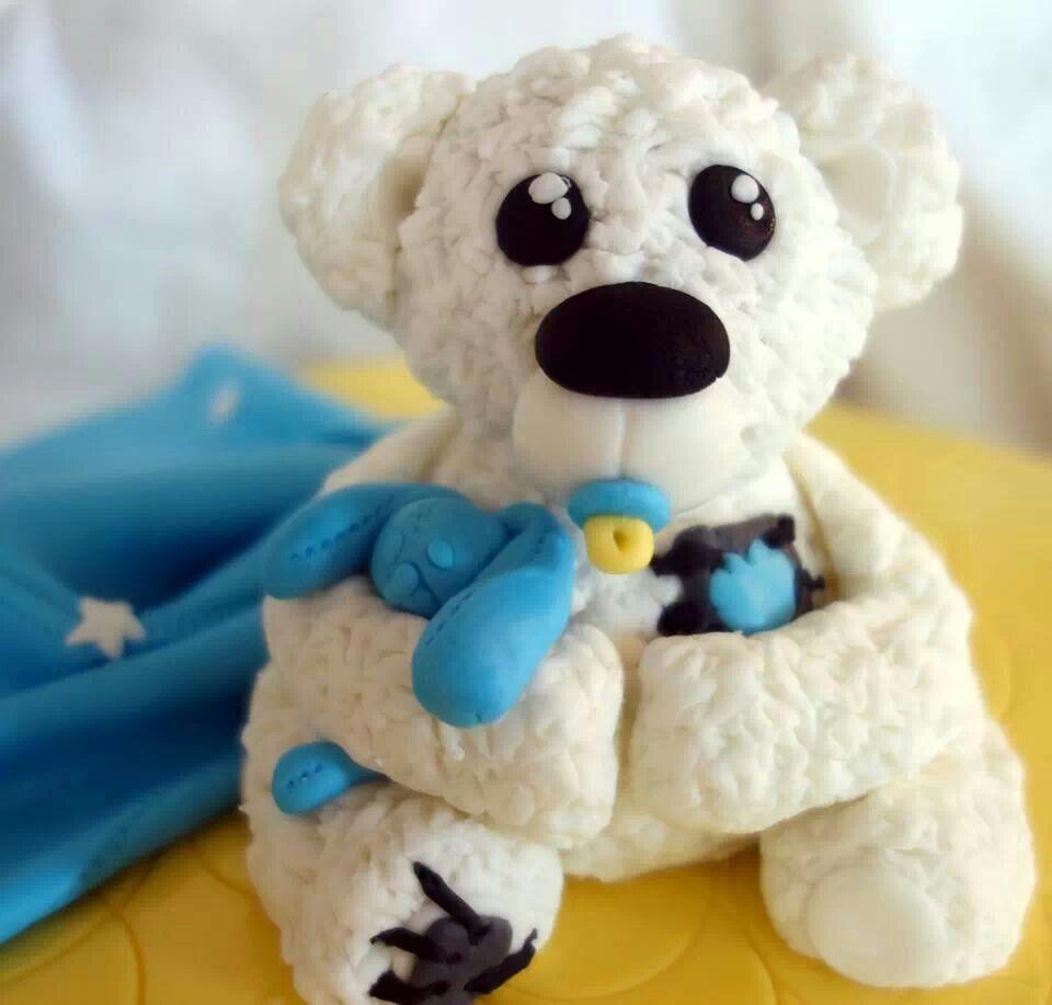 Baby bear cakes pinterest more cake ideas