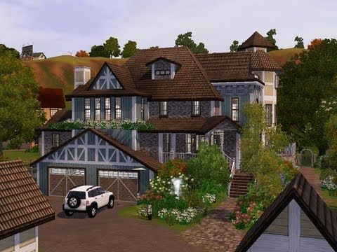 the sims 3, house building - haunted castle - youtube | gothic