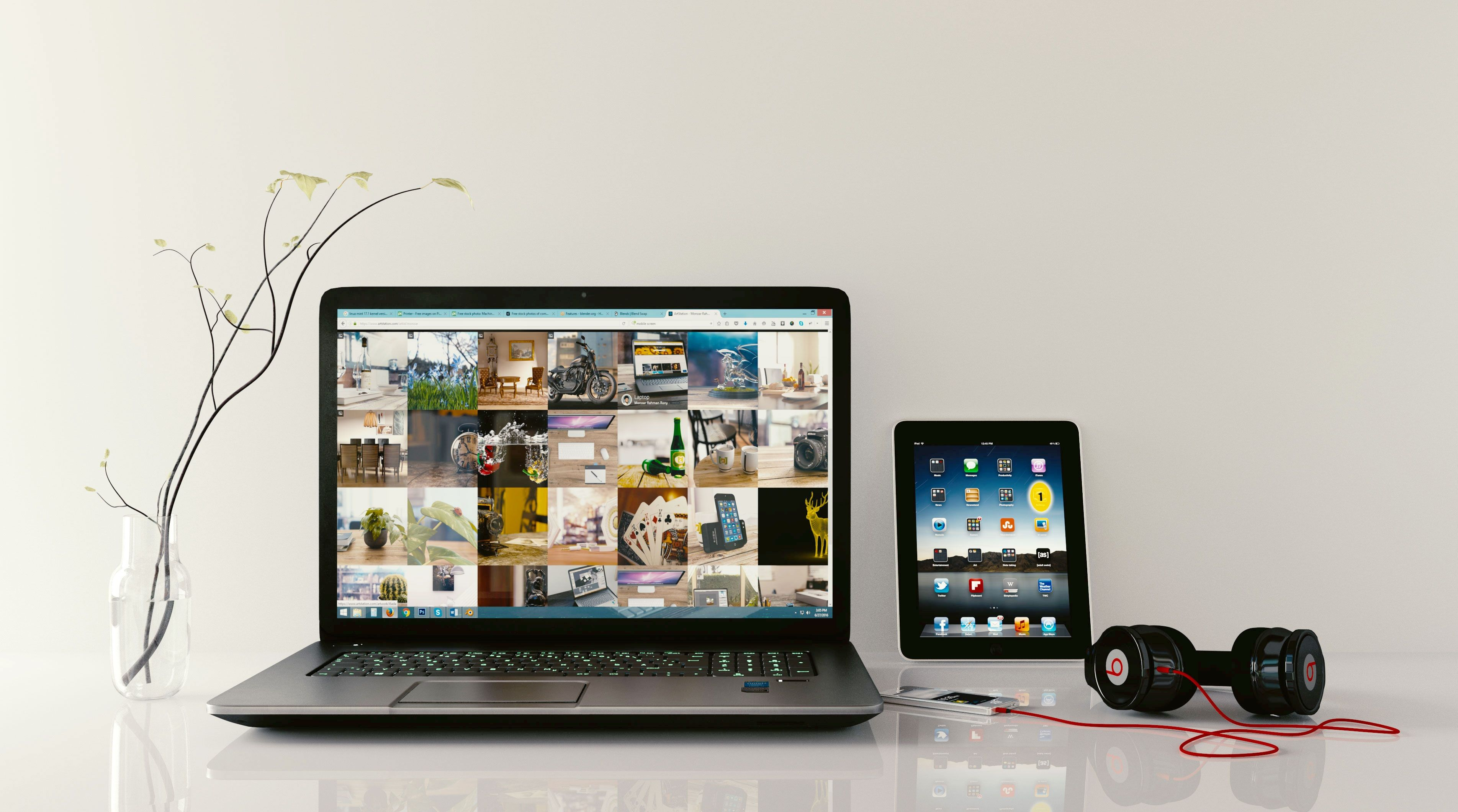 Wallpapers multimedia, audio equipment, business