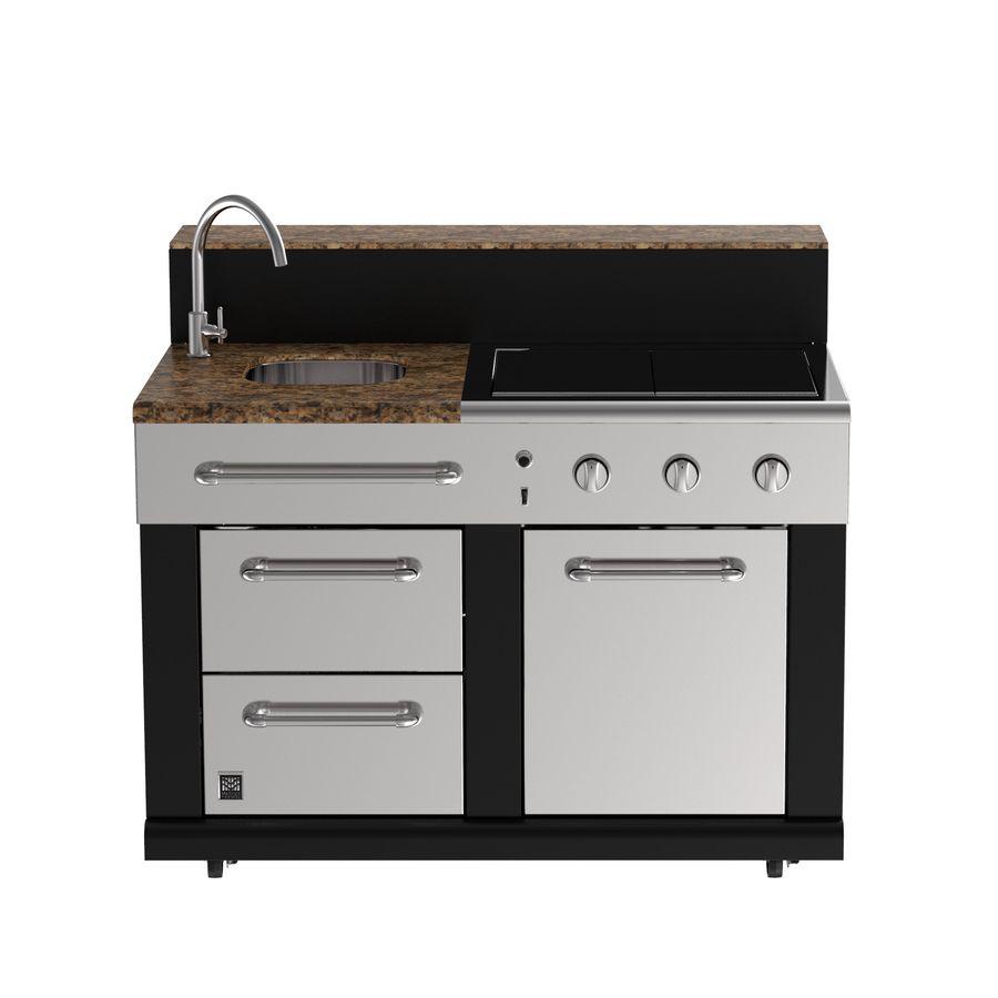 Master Forge Modular Outdoor Kitchen Bg179c Modular Sink Lowes Com Modular Outdoor Kitchens Outdoor Kitchen Outdoor Kitchen Appliances
