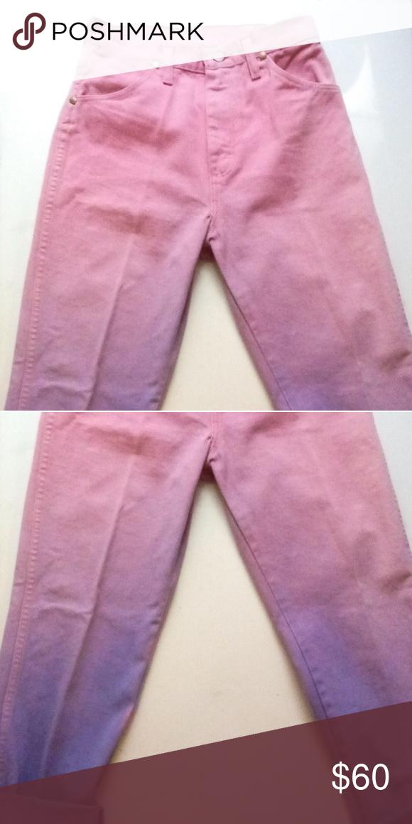 Vintage Wrangler purple jeans waist 25