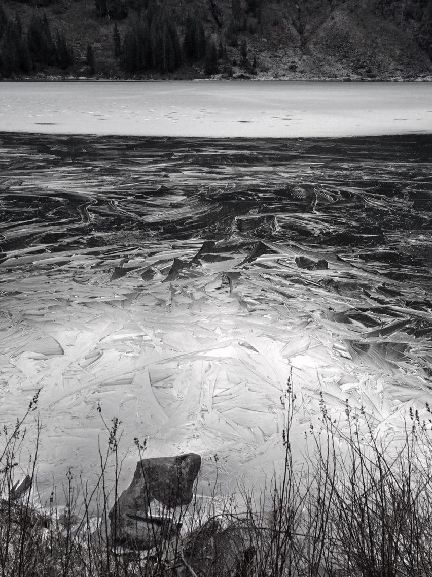 frozen surface // Lake Twenty Two // pc: Erica LeSuer