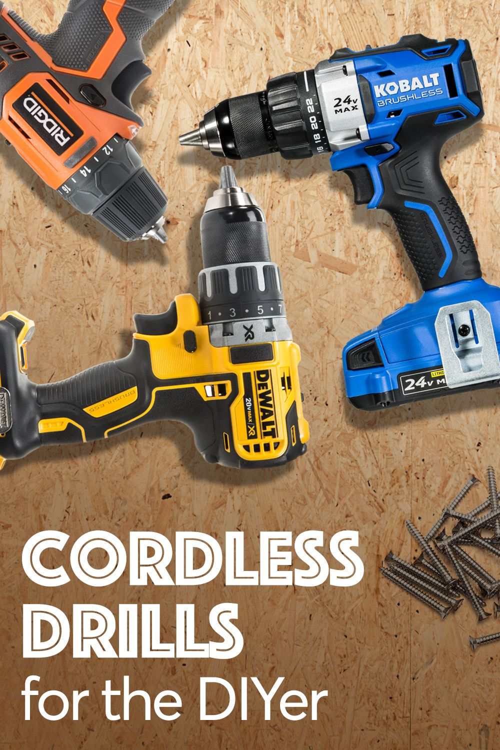 Best Cordless Drills Of 2019 In 2019 Home Improvement Tips
