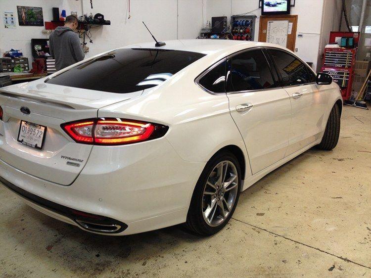 2013 Ford Fusion Titanium Led Ford Fusion Voiture Deco Voiture