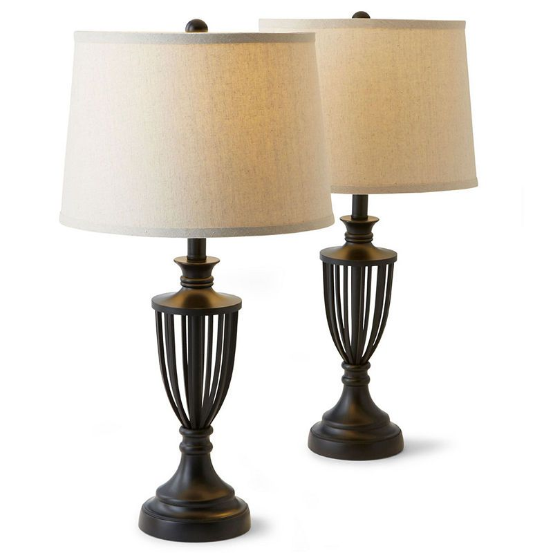 Jcpenney Home Set Of 2 Cage Table Lamps Products