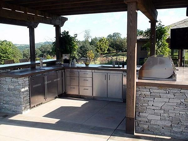 U Shaped Outdoor Kitchen Kalamazoo Outdoor Gourmet Kalamazoo Mi