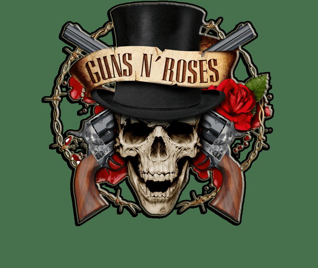 Guns N Roses Logo Cartelguns Gambar Stiker Desain