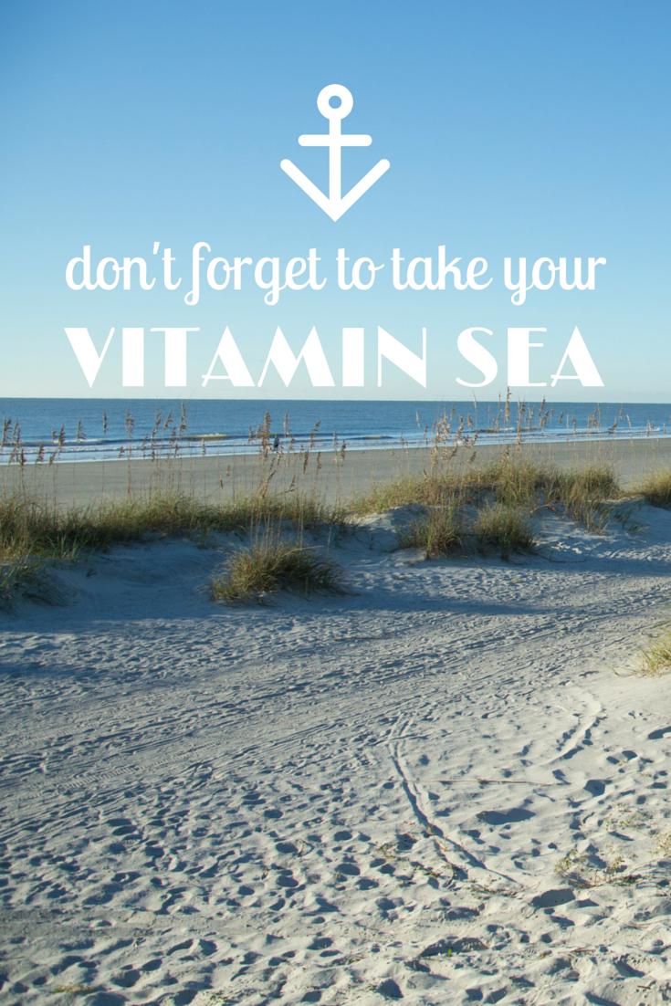 vitamin sea quotes - Google Search | Inspiring... | Sea ...
