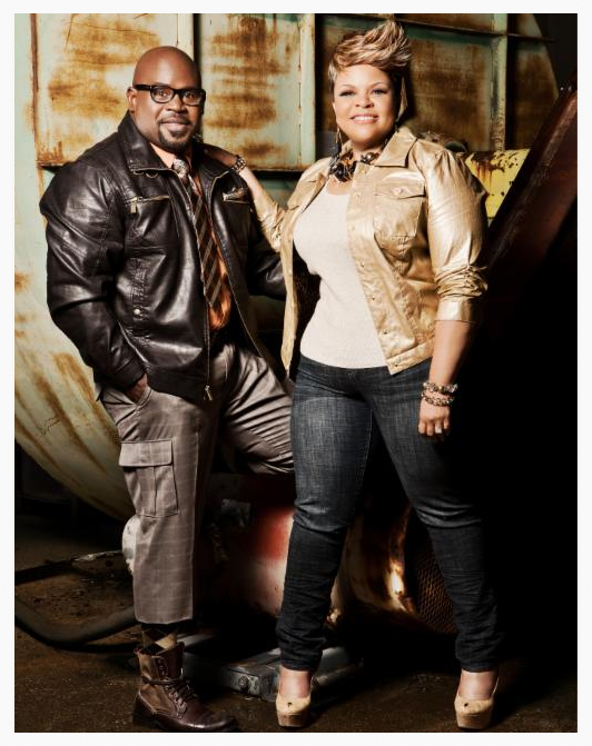 Husband and wife couple: David Mann and Tamela Mann