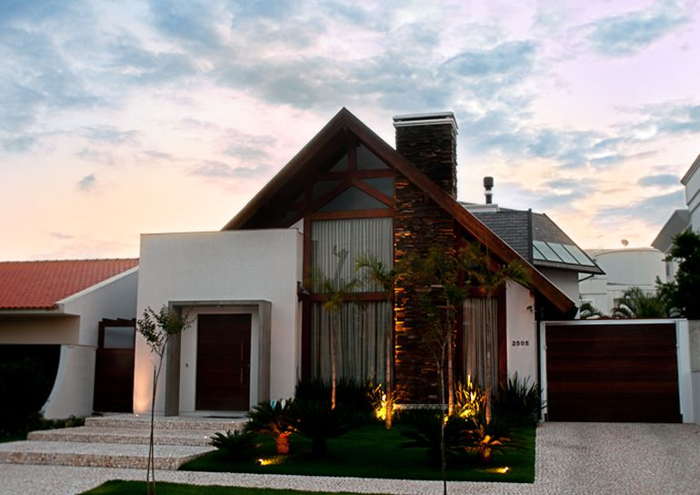 Casa terrea rustica moderna pesquisa google decor for Casa moderna y rustica