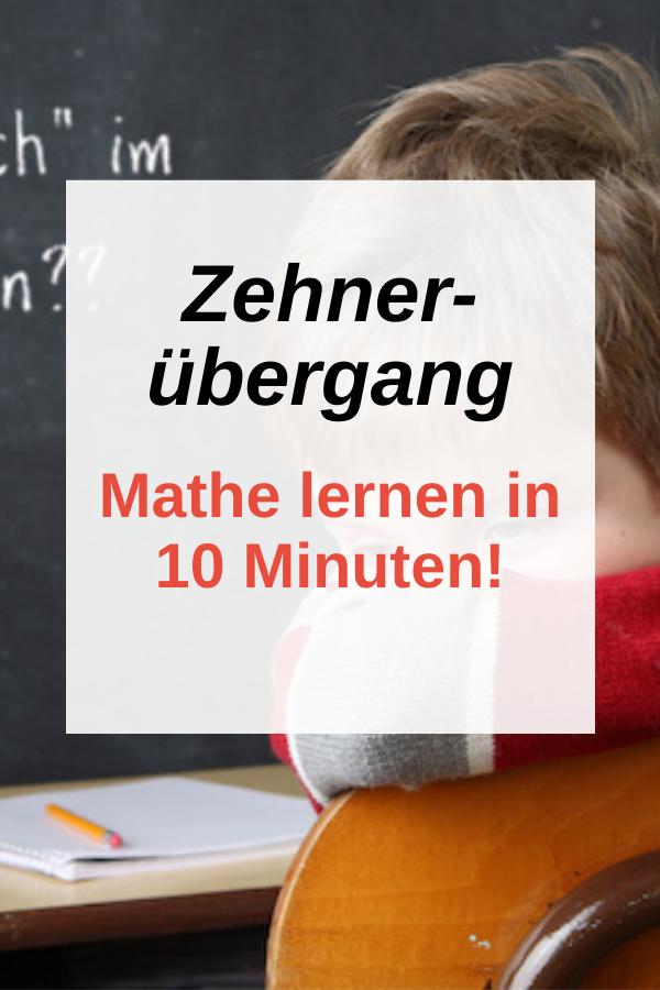 Zehnerübergang Plus in 10 Minuten gelernt!
