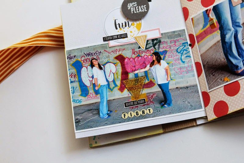 Crafting ideas from Sizzix UK: Mini book Hello World ! by Karine