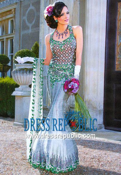 Dull Green Prairie - DR4834, Summya Darr Bridal Dresses Collection ...