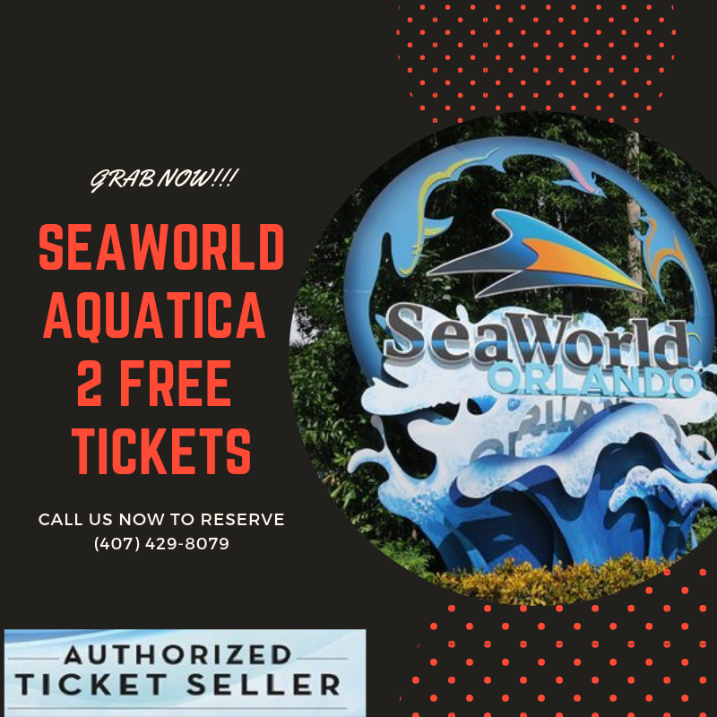 Visit Seaworld Orlando And Enjoy The Finest Aquatic Experience With Our Seaworld Ticket Get Your 2 Free Tickets Seaworld Orlando Tickets Theme Park Sea World